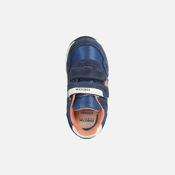 SNEAKERS BABY GEOX ALBEN BABY BOY - NAVY AND ROYAL