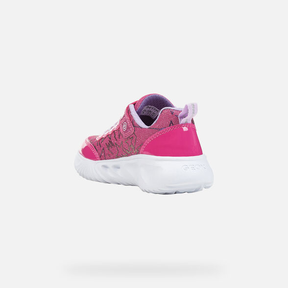 GIRL LIGHT-UP SHOES GEOX ASSISTER GIRL - 4