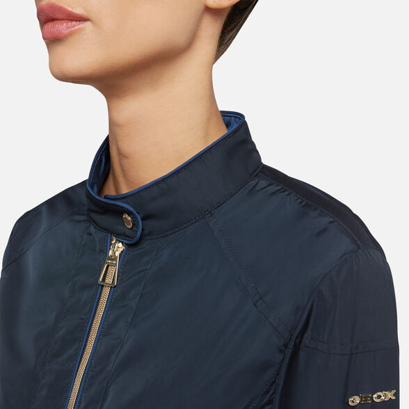 JACKETS WOMAN GEOX GENZIANA WOMAN - 9