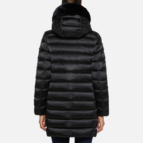 DOWN JACKETS WOMAN GEOX CHLOO WOMAN - 6