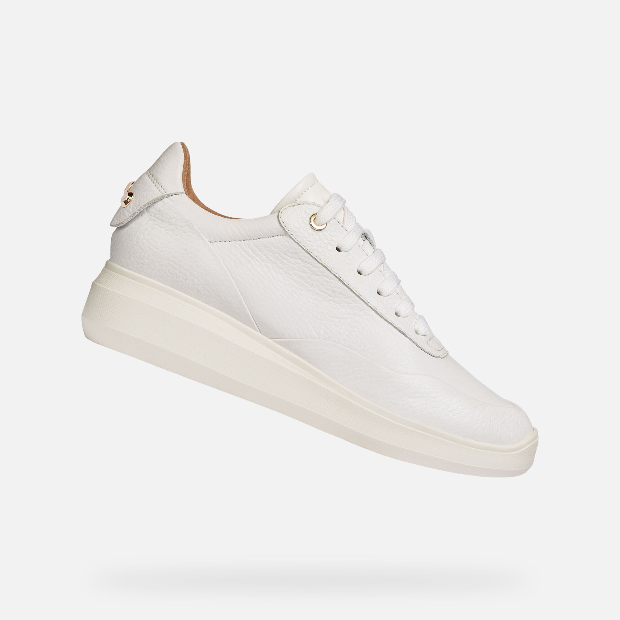 Geox RUBIDIA Femme Sneakers Blanches | Geox ® Boutique en