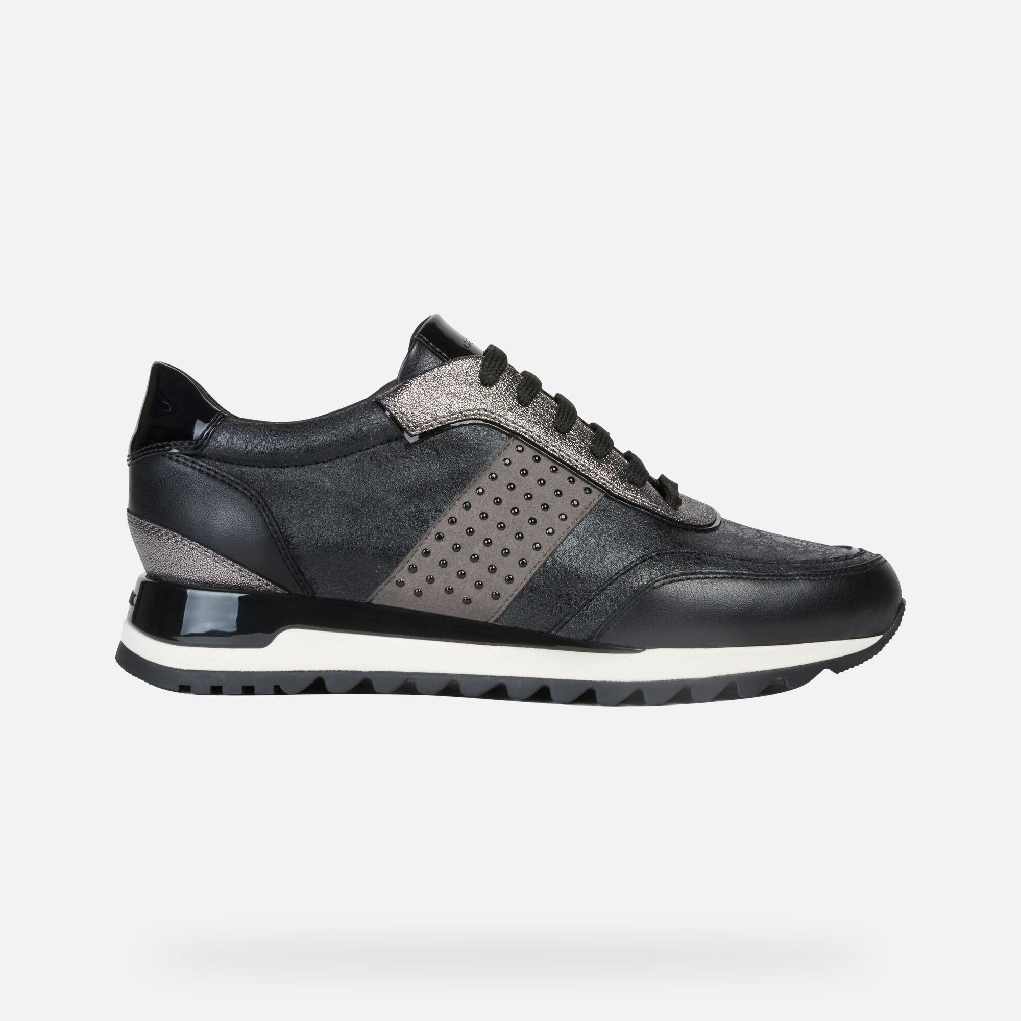 Geox TABELYA Woman: Black Sneakers