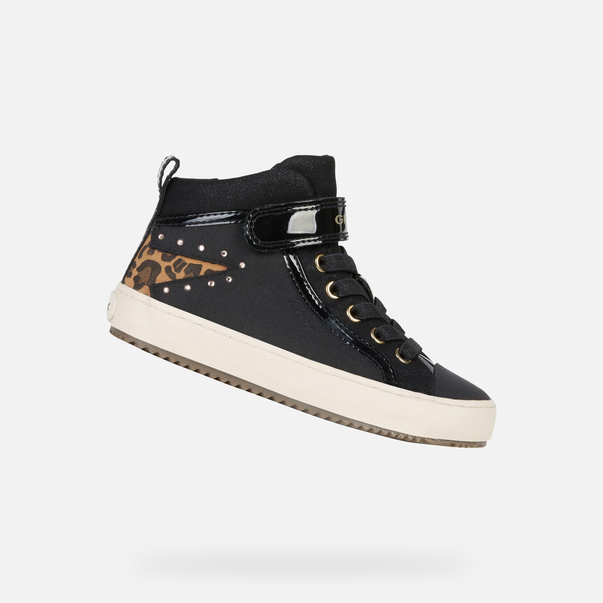 Geox KALISPERA Junior Girl Black Sneakers | Geox ®