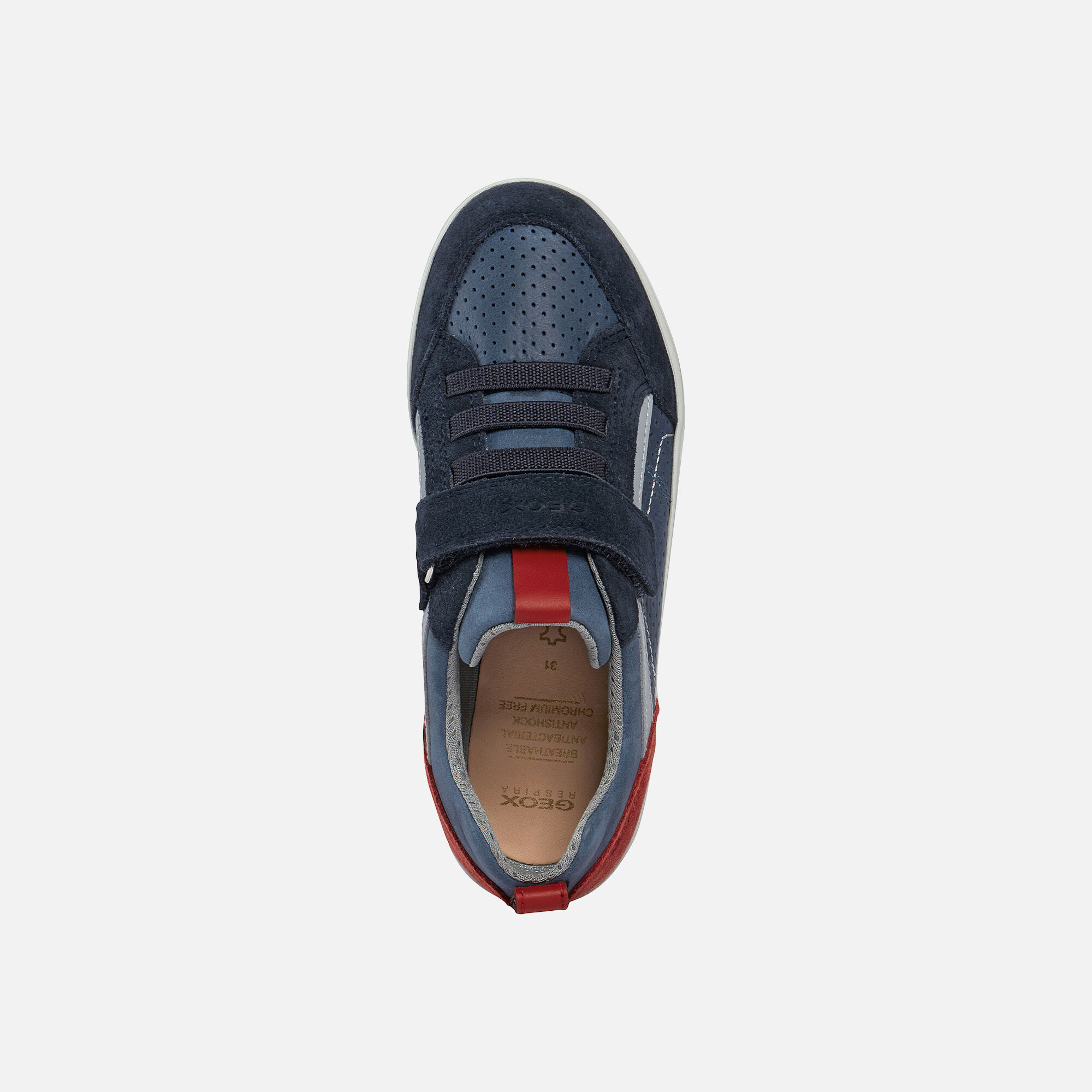 Geox KILWI Boy: Navy Sneakers   Geox