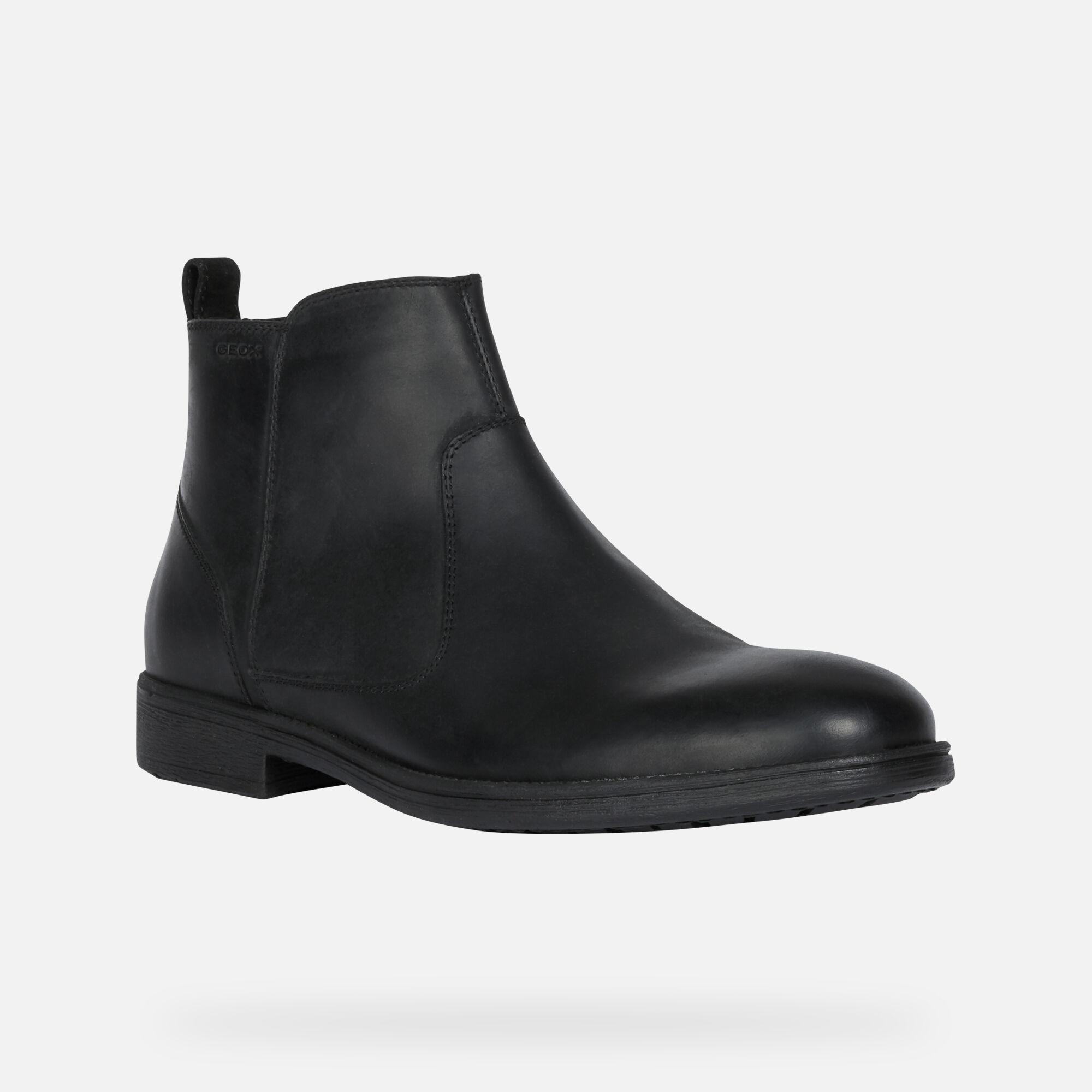 ligne Boutique ® Homme NoiresGeox JAYLON Geox Bottines en D2WEH9I