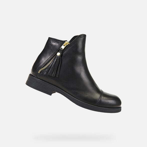 GIRL ANKLE BOOTS GEOX AGATA GIRL - 1