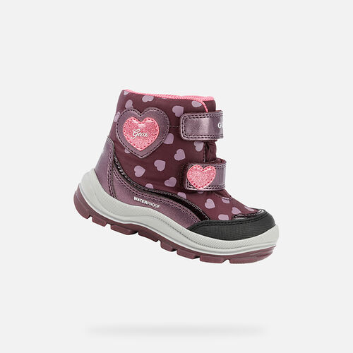 MID-CALF BOOTS BABY GEOX FLANFIL BABY GIRL - null