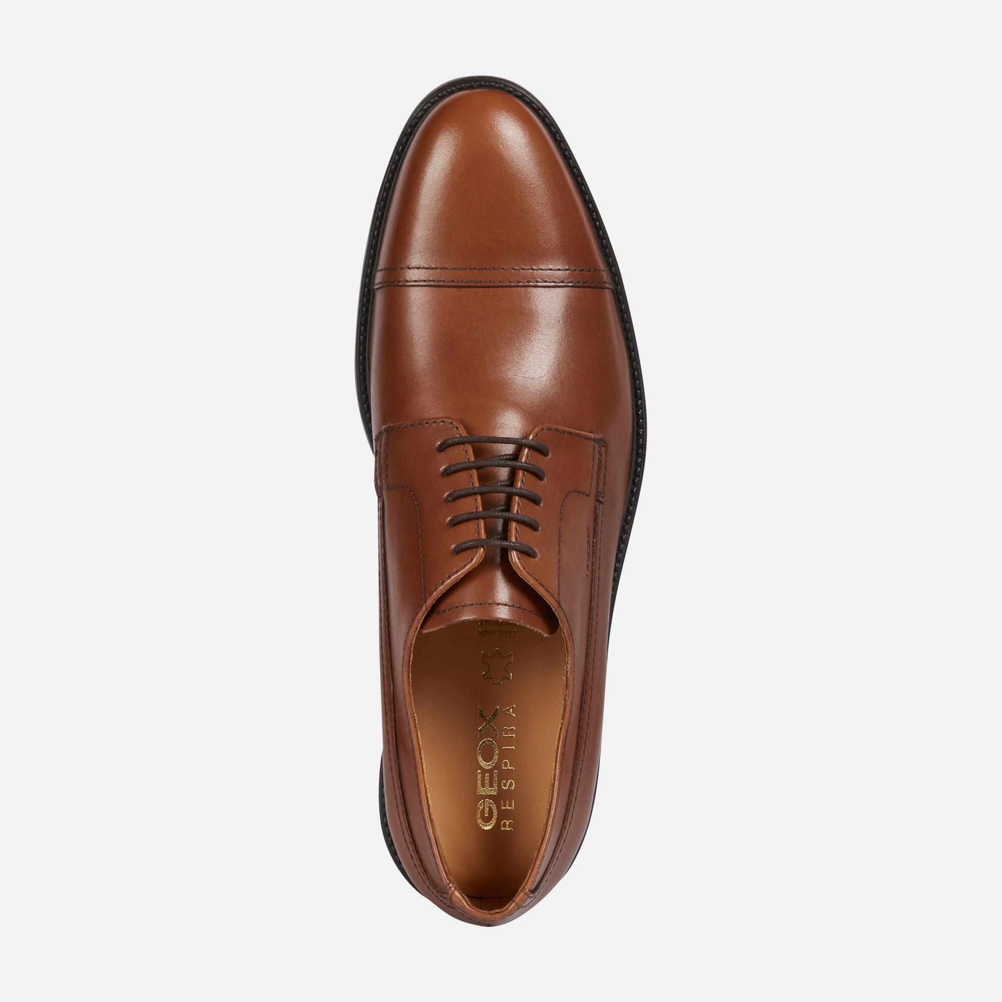 Geox CARNABY Uomo: Scarpe Eleganti Marroni cotto | Geox ®