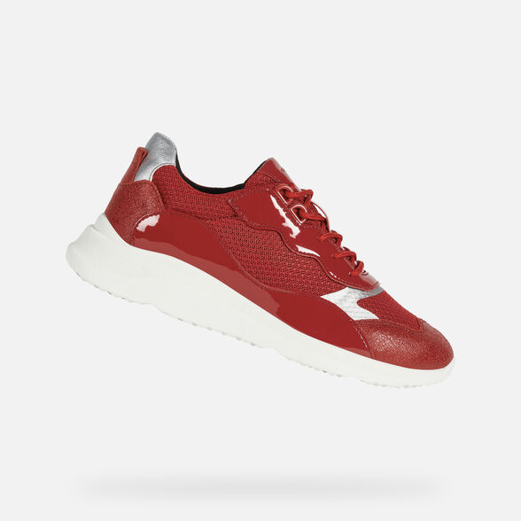 SNEAKERS MUJER GEOX DIODIANA MUJER - RED