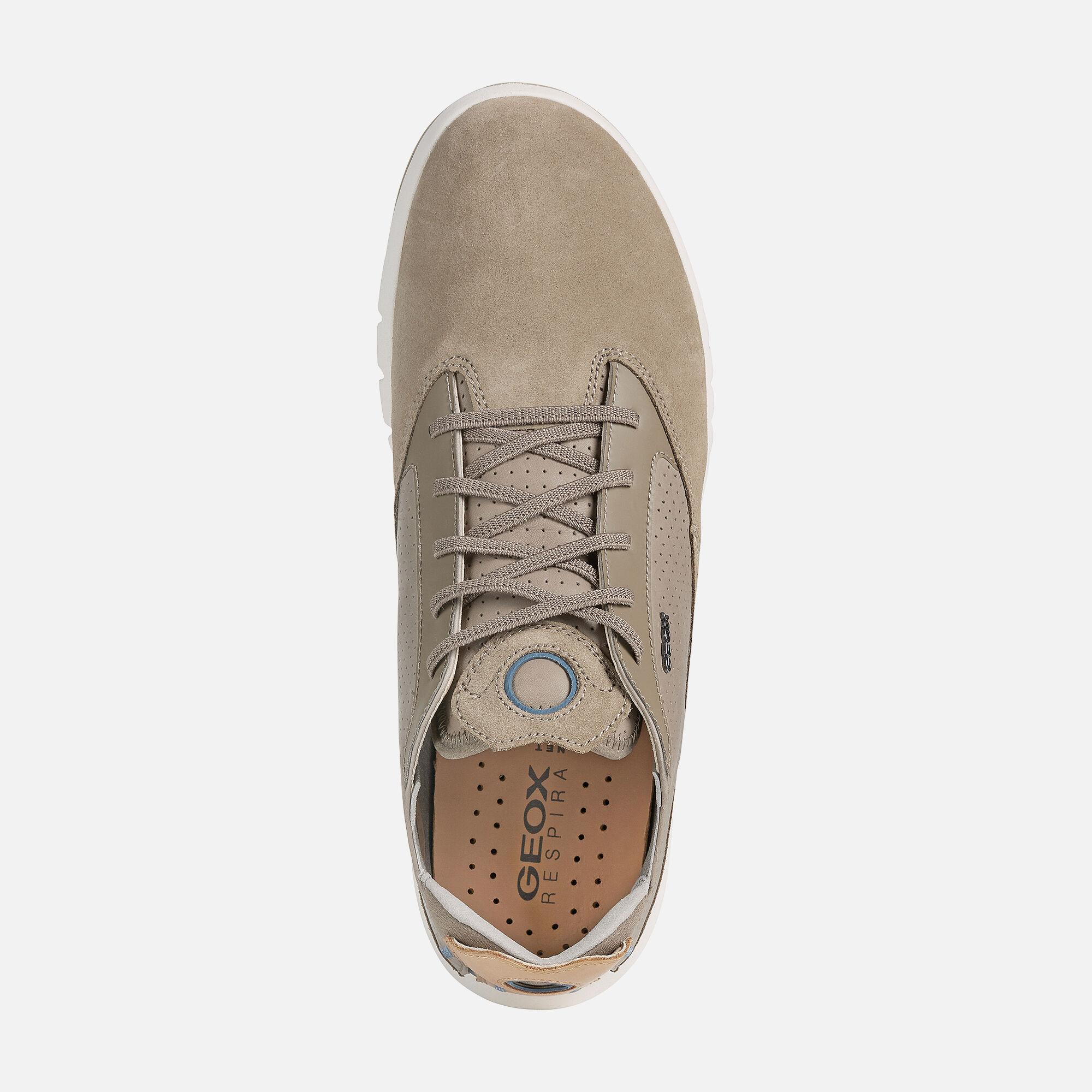 Geox AERANTIS Man: Sand Sneakers | Geox