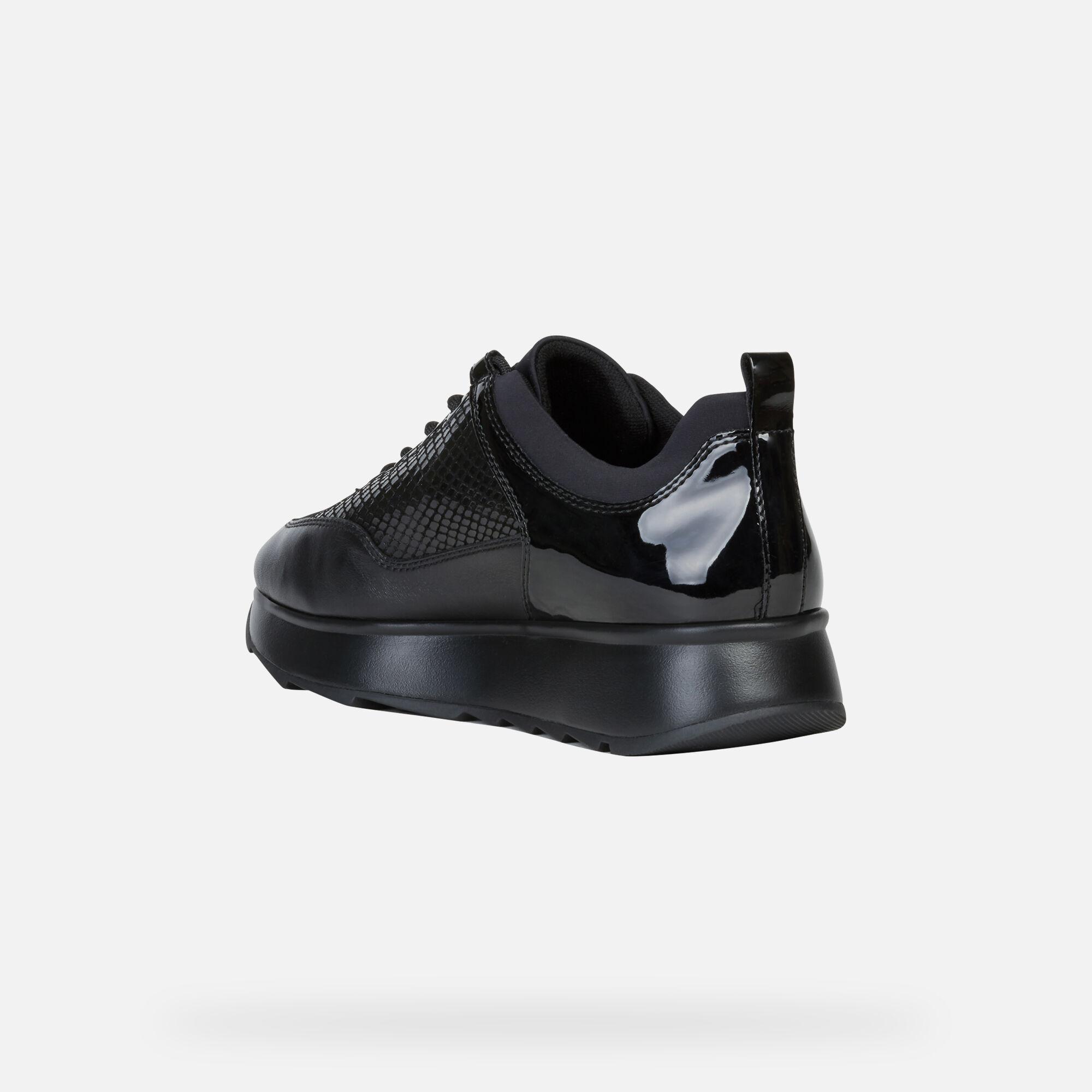 Geox Women's D GENDRY Black Sneakers | Geox¨ Official Store