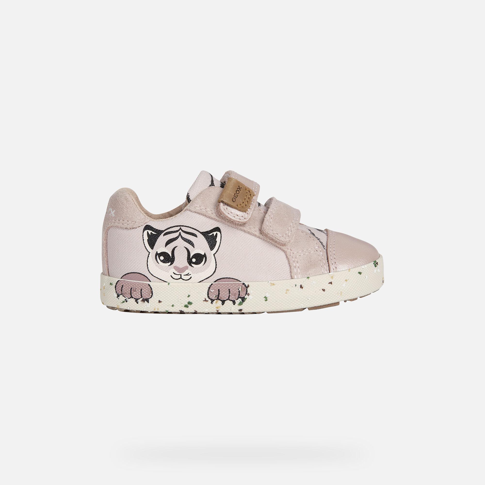 Geox KILWI Baby Girl: Lt Rose Sneakers