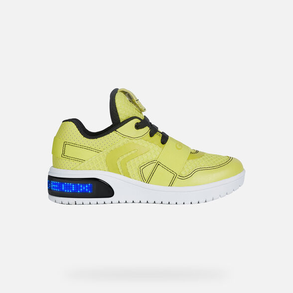 BOY LIGHT-UP SHOES GEOX XLED BOY - 8