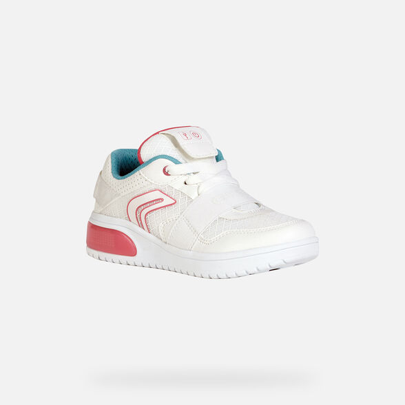 GIRL LIGHT-UP SHOES GEOX XLED GIRL - 3