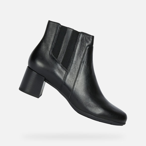 ANKLE BOOTS WOMAN GEOX NEW ANNYA WOMAN - 1
