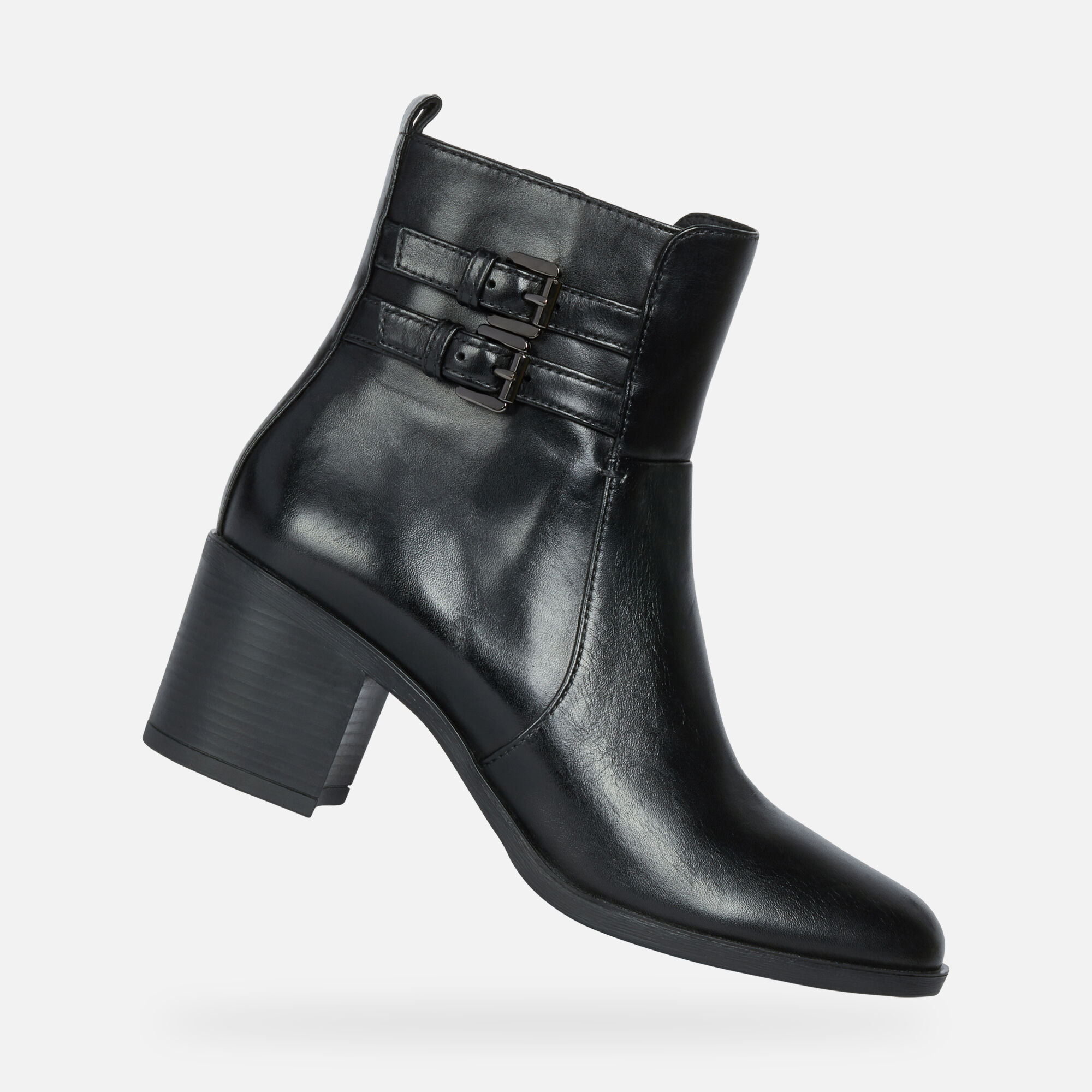 Geox GLYNNA Woman: Black Ankle Boots | Geox ® Official Store