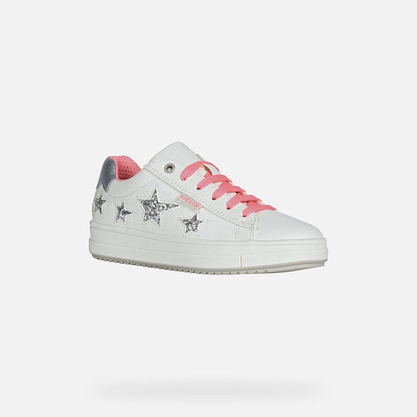 FILLE SNEAKERS GEOX REBECCA FILLE - 3