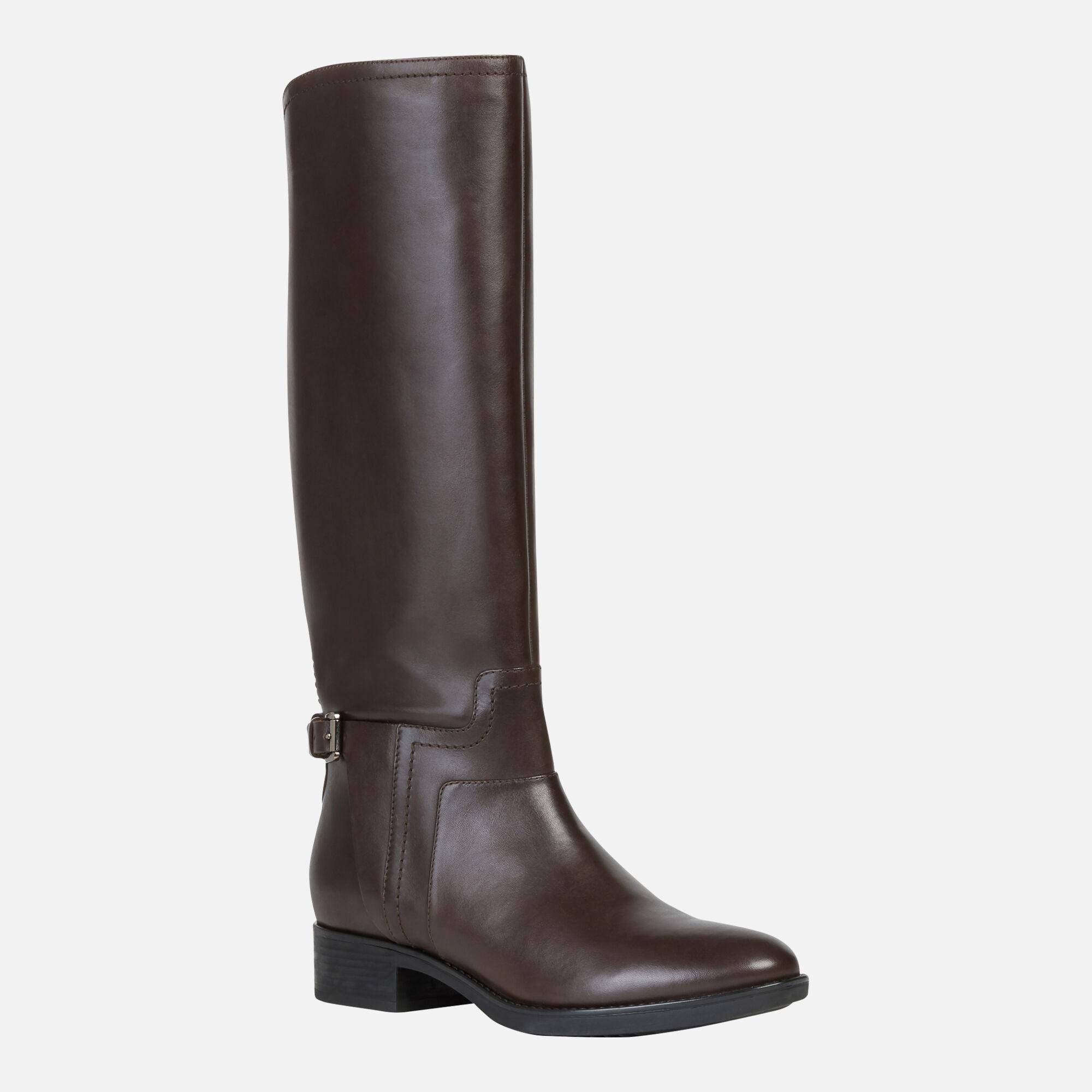 geox knee stivali