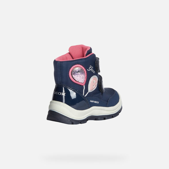 LIGHT-UP SHOES BABY GEOX FLANFIL BABY GIRL ABX - 5
