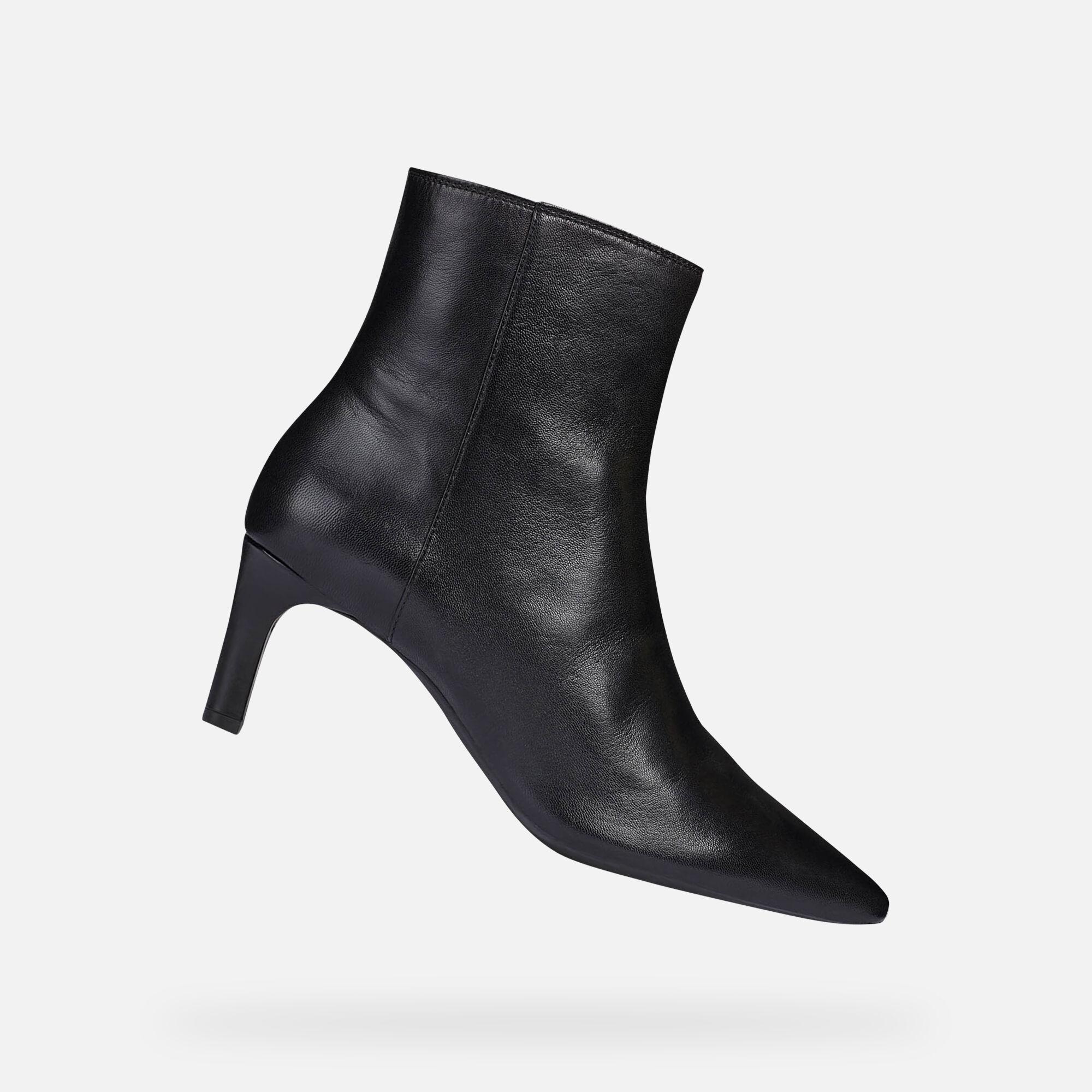 Geox Women's D BIBBIANA Black Ankle Boots | Geox¨ FW 1920