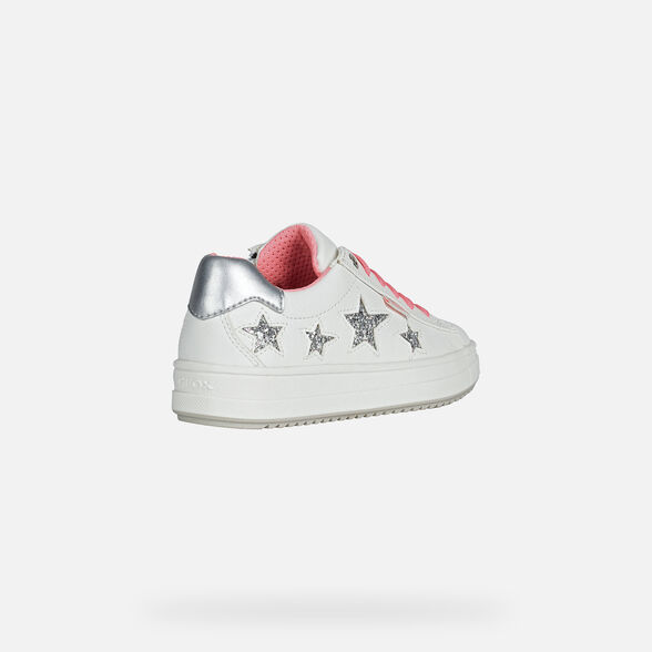 FILLE SNEAKERS GEOX REBECCA FILLE - 5