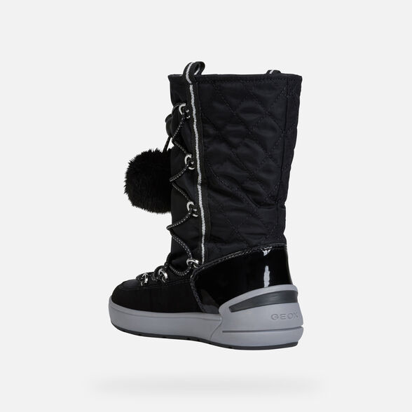 GIRL ANKLE BOOTS GEOX SLEIGH ABX GIRL - 4