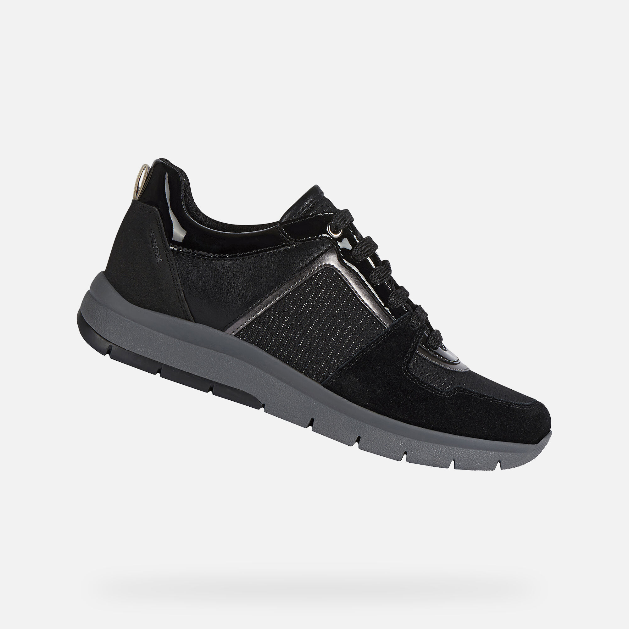 Geox CALLYN Woman: Black Sneakers