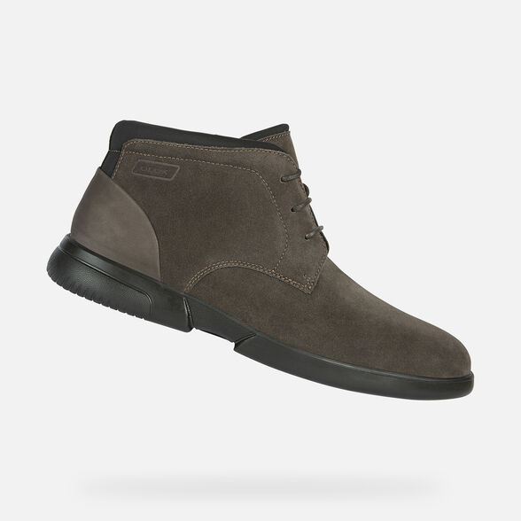 MAN CASUAL SHOES GEOX SMOOTHER MAN - 1