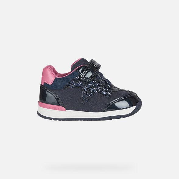 En Vivo Fanático humor  Geox RISHON GIRL Baby Girl: Navy blue First Steps   FW20 Geox®