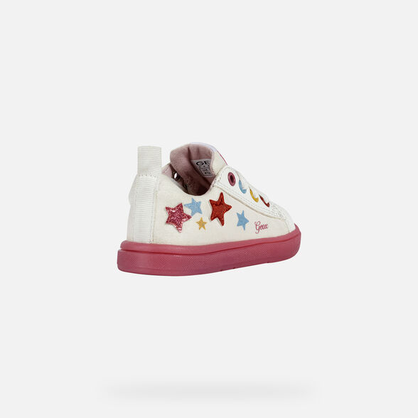 BABY SNEAKERS GEOX TROTTOLA BABY GIRL - 5