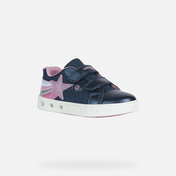 FILLE CHAUSSURES LED GEOX SKYLIN FILLE - 3