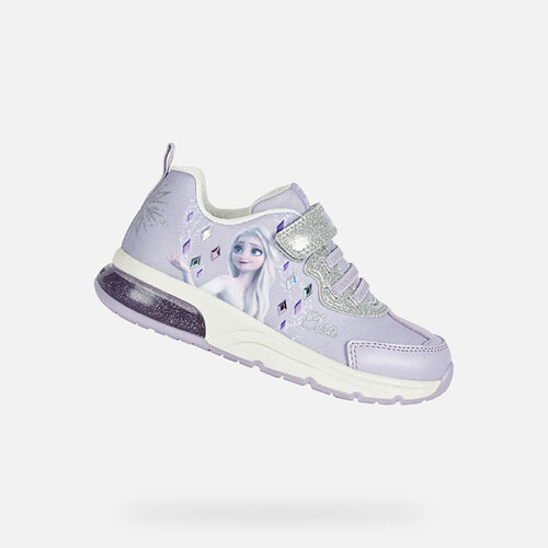 LIGHT-UP SHOES GIRL GEOX SPACECLUB GIRL - null