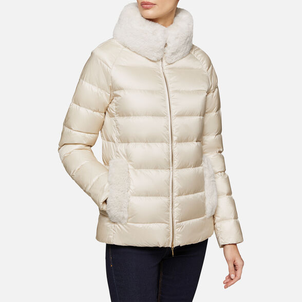 DOWN JACKETS WOMAN GEOX BLENDA WOMAN - 4