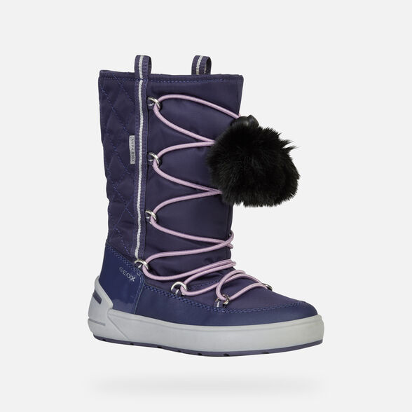 ANKLE BOOTS GIRL GEOX SLEIGH ABX GIRL - 3
