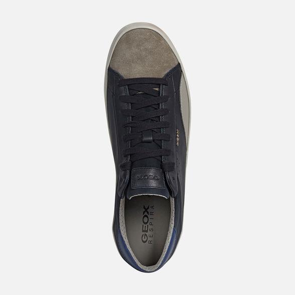 Baya yo Característica  Geox WARLEY Man: Navy blue Sneakers   Geox® Online Store