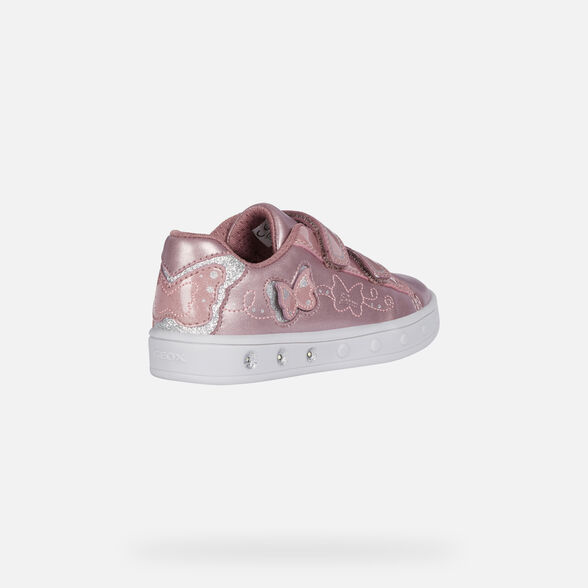 CHAUSSURES LED FILLE GEOX SKYLIN FILLE - 5