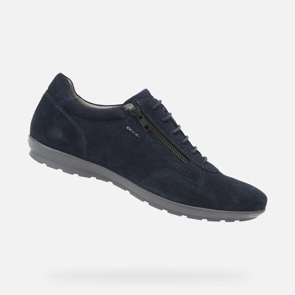 extinción Ecología sentido común  Geox UOMO SYMBOL Man: Navy blue Shoes | Geox® Online Store