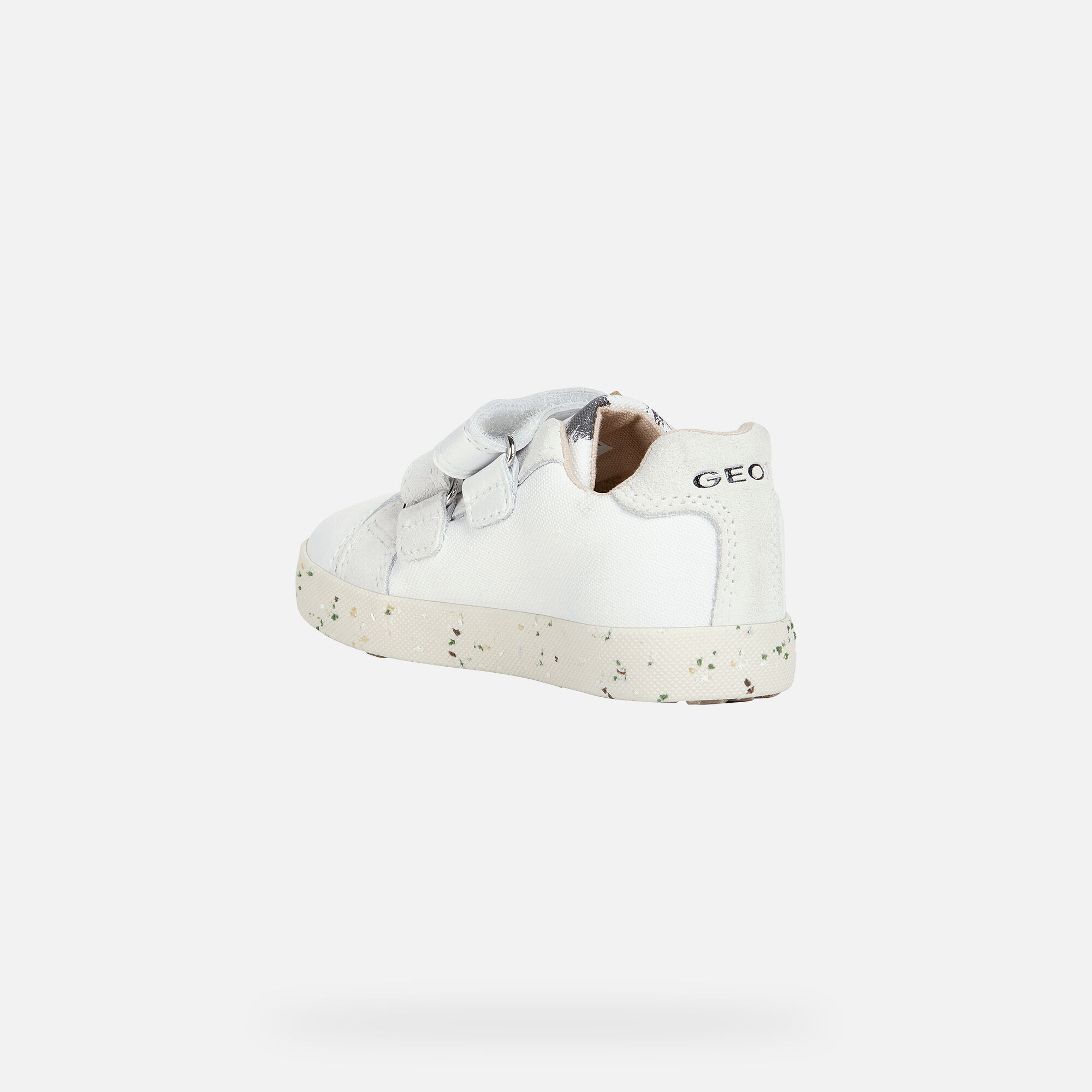 Geox KILWI Baby Girl: White Sneakers