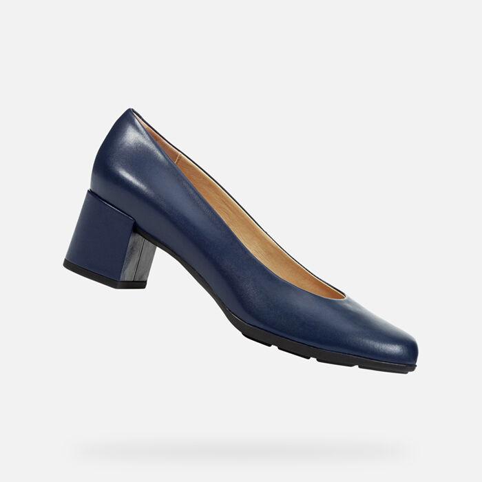 Zapatos Y TranspirablesGeox De Cómodos Mujer Salón D9WEHYI2