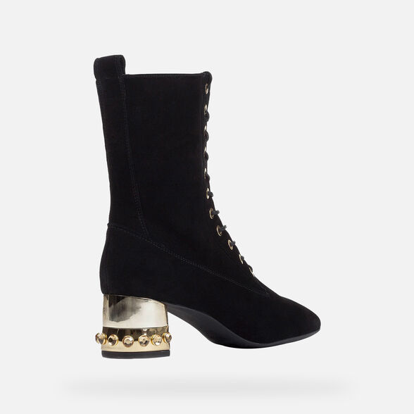 ANKLE BOOTS WOMAN GEOX CHLOO WOMAN - 5
