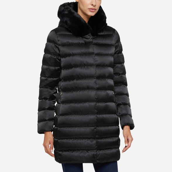 DOWN JACKETS WOMAN GEOX CHLOO WOMAN - 4