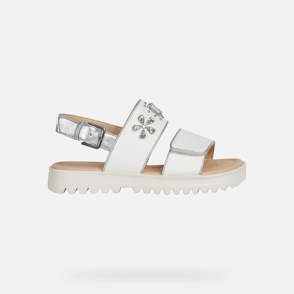 GIRL SANDALS GEOX CORALIE GIRL - 2