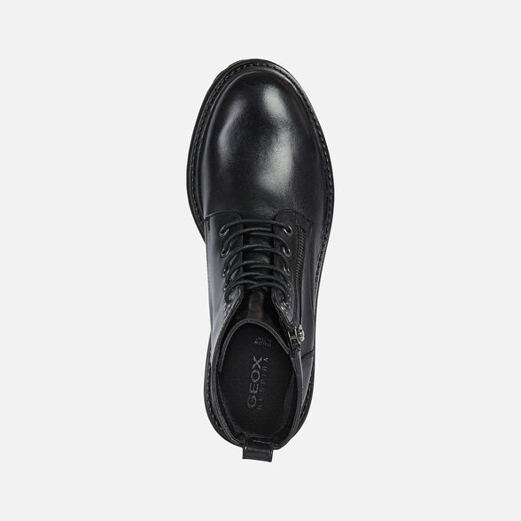 Esmerado Tejido Continuamente  Geox IRIDEA Woman: Black Ankle Boots | FW20 Geox®