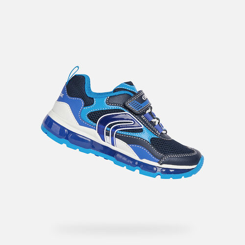LIGHT-UP SHOES BOY GEOX ANDROID BOY - null