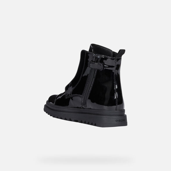 BOTTES MI-MOLLET FILLE GEOX GILLYJAW FILLE - 4