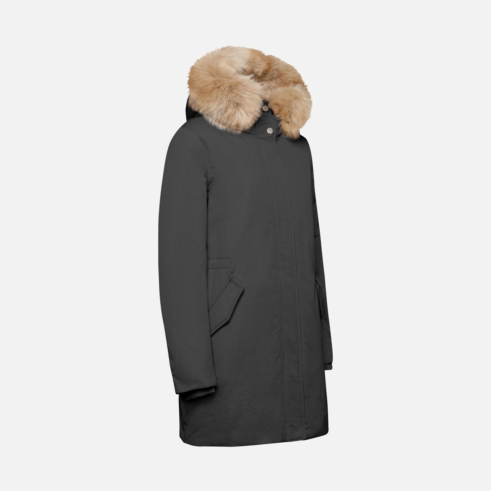 Geox CARUM Frau: schwarze Jacke   Geox HerbstWinter