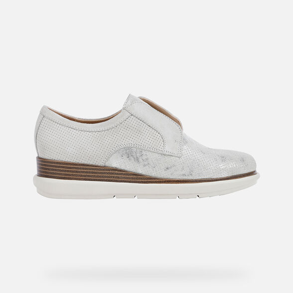 WOMAN LACE UPS AND BROGUES GEOX SAMUELA WOMAN - 2