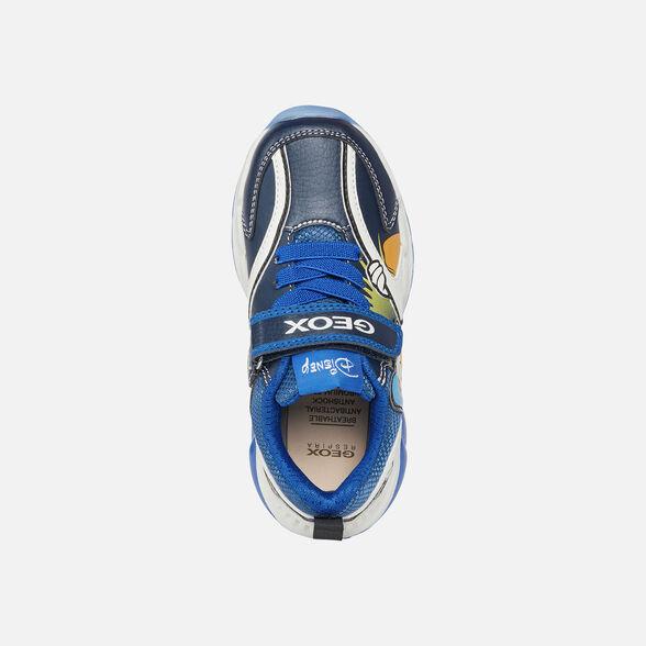 Geox J Spaziale Boy B Basket Gar/çon