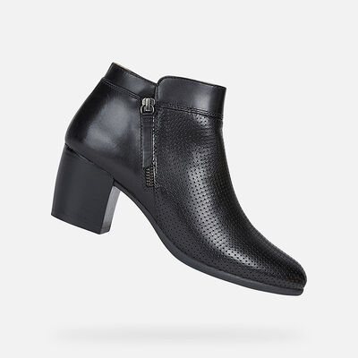 ANKLE BOOTS WOMAN GEOX NEW LUCINDA WOMAN