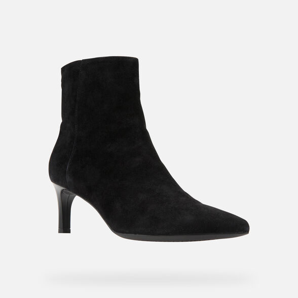 HEELED ANKLE BOOTS WOMAN GEOX BIBBIANA WOMAN - 3